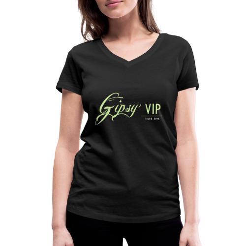 TAPE FIVE gipsy VIP shirt, female - Women's Organic V-Neck T-Shirt by Stanley & Stella