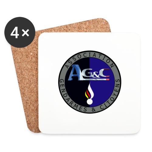 Dessous de verre (4) AG&C - Dessous de verre (lot de 4)