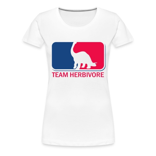 Team Herbivore vegan  - Women's Premium T-Shirt