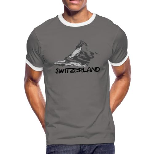 Switzerland - T-shirt contrasté Homme