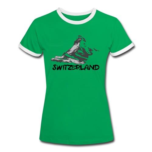 Switzerland - T-shirt contrasté Femme