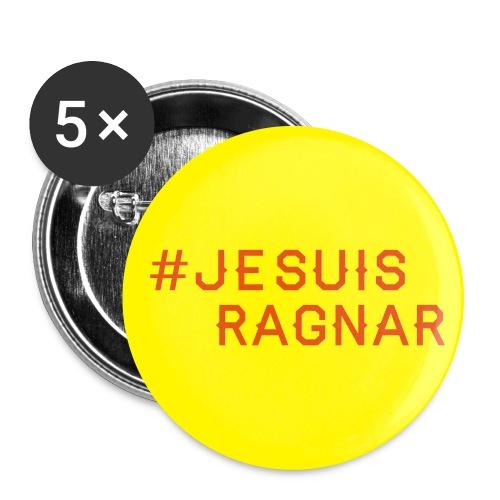 #jesuisRagnar - Stora knappar 56 mm (5-pack)