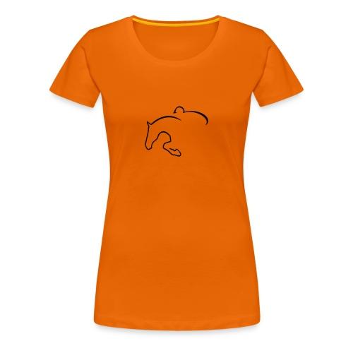 Springpferd - Frauen Premium T-Shirt