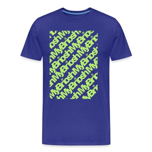 MyB TShirt Patt - Maglietta Premium da uomo