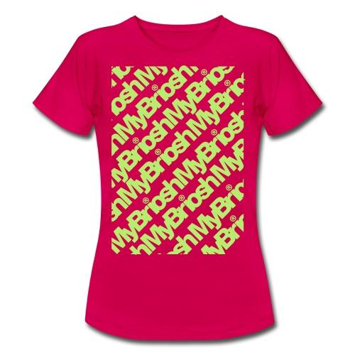 MyB TShirt Patt - Maglietta da donna