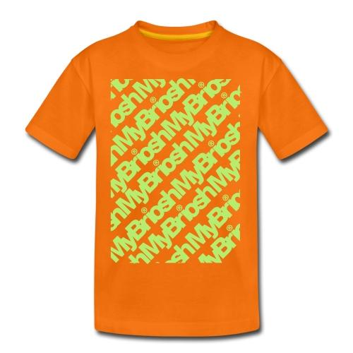 MyB TShirt Patt - Maglietta Premium per ragazzi