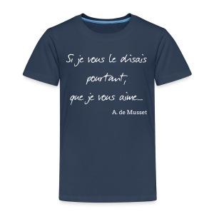 T-shirt Enfant - Si je vous le disais... - T-shirt Premium Enfant