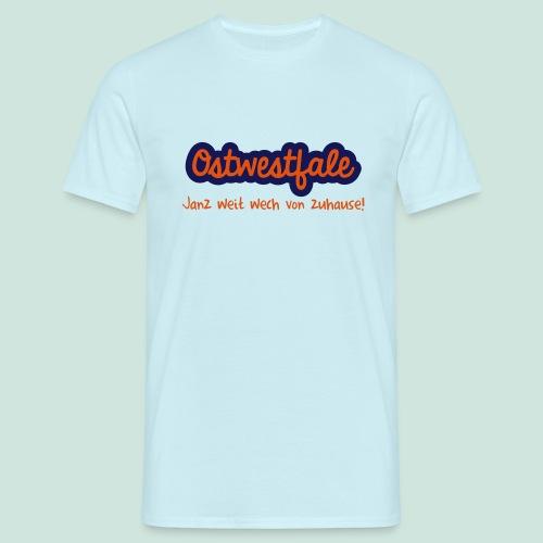 Weit wech von zuhause - Männer T-Shirt