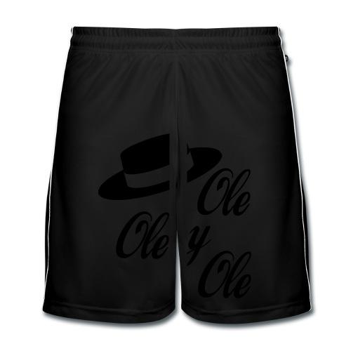 Ole,Ole y Ole (Hombre) - Pantalones cortos de fútbol hombre