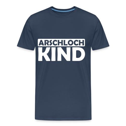JuliTimes Arschloch Kind T-Shirt - Männer Premium T-Shirt