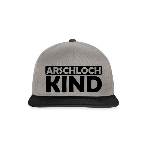 JuliTimes Arschloch Kind Kappe - Snapback Cap