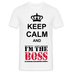 im the boss - T-shirt Homme