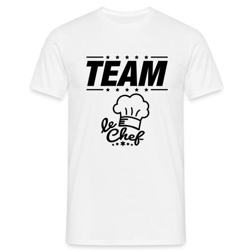 LE CHEF - T-shirt Homme