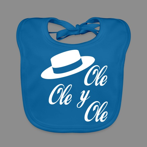 Ole,Ole y Ole (Infantil) - Babero ecológico bebé