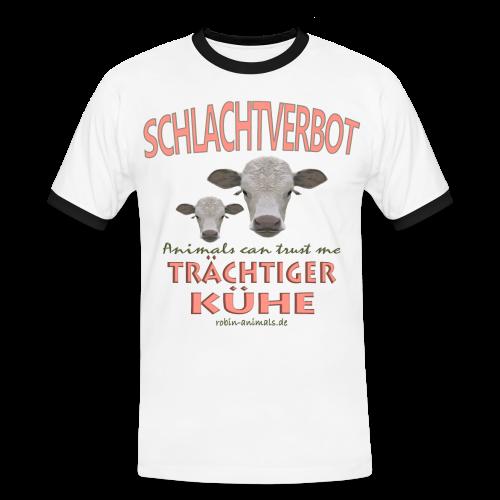 Schlachtverbot - Männer Kontrast-T-Shirt