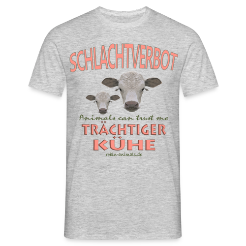Schlachtverbot - Männer T-Shirt