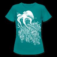 Tee shirts ~ Tee shirt Femme ~ Deep Cloud