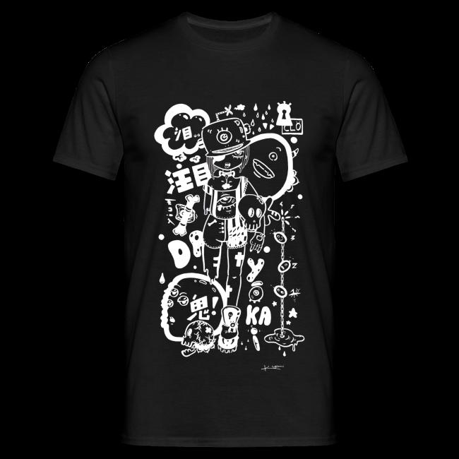 9e219d8a08d5 Kagami †   Fille manga dark avec monstres rock kawaii - T-shirt Homme