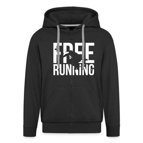 Free Running Vest - Mannenjack Premium met capuchon