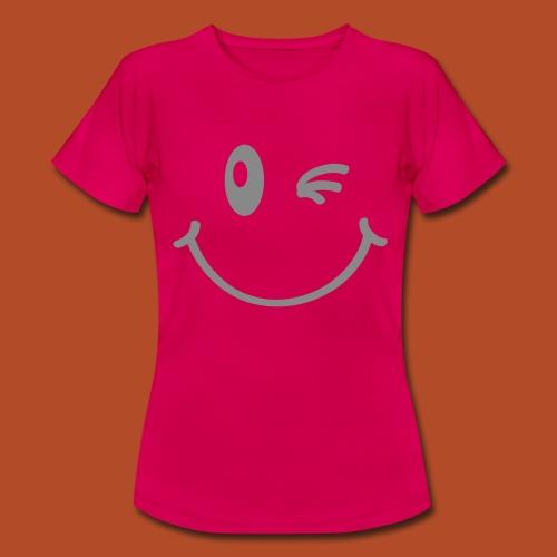 Camiseta chica sonrisa - Camiseta mujer