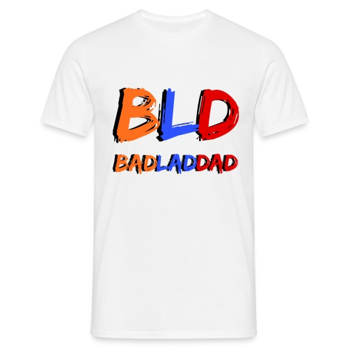 BadLadDad You Tube Logo T-Shirts - Men's T-Shirt