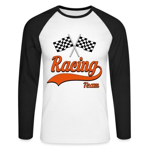 Racing Team 01 - Men's Long Sleeve Baseball T-Shirt