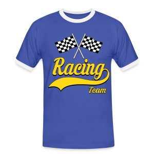 Racing Team 01 - Men's Ringer Shirt