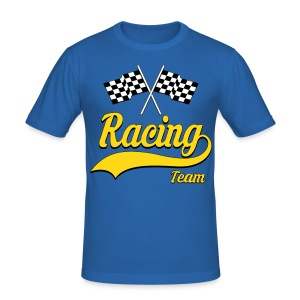 Racing Team 01 - Men's Slim Fit T-Shirt