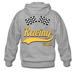 Racing Team 01 - Men's Premium Hooded Jacket