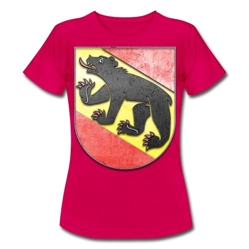 Schweiz Bern Wappen in Stein gemeißelt - Frauen T-Shirt