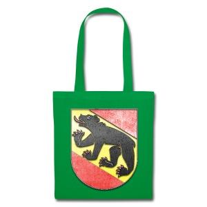 Schweiz Bern Wappen in Stein gemeißelt - Stoffbeutel