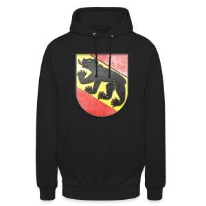 Schweiz Bern Wappen in Stein gemeißelt - Unisex Hoodie