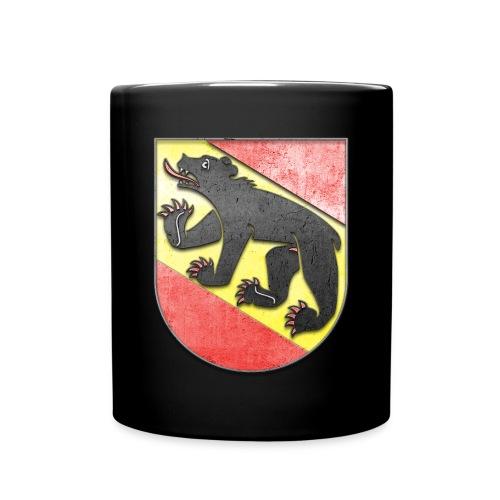 Schweiz Bern Wappen in Stein gemeißelt - Tasse einfarbig