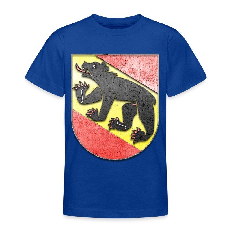 Schweiz Bern Wappen in Stein gemeißelt - Teenager T-Shirt