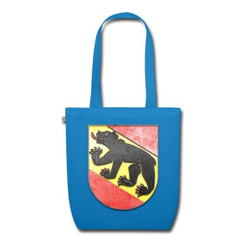 Schweiz Bern Wappen in Stein gemeißelt - Bio-Stoffbeutel