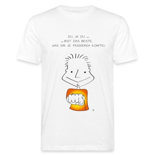 Der kleine Coach Du bist das Beste!  für Männer - Männer Bio-T-Shirt