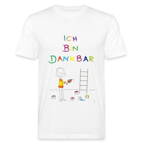 Der kleine Coach Ich bin dankbar - Männer Bio-T-Shirt