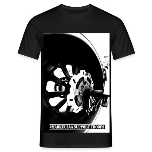 Destroyer t-shirt BLACK - Miesten t-paita