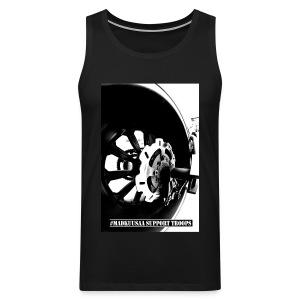 Destroyer MEN sleeveless BLACK - Miesten premium hihaton paita