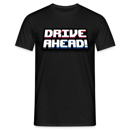 Drive Ahead! Logo T-Shirt - Men's T-Shirt