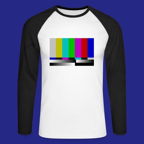Testscreen full color - Mannen baseballshirt lange mouw