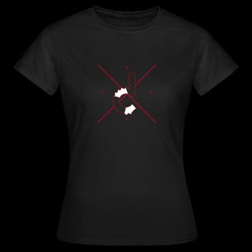 d.n.h.d Red Womens - Women's T-Shirt