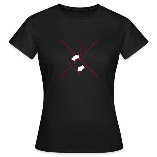 d.n.h.d Red Womens - Women's T-Shirt