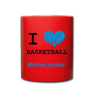 Tasse basketball - Tasse en couleur