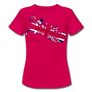 London England Samtaufdruck - Frauen T-Shirt