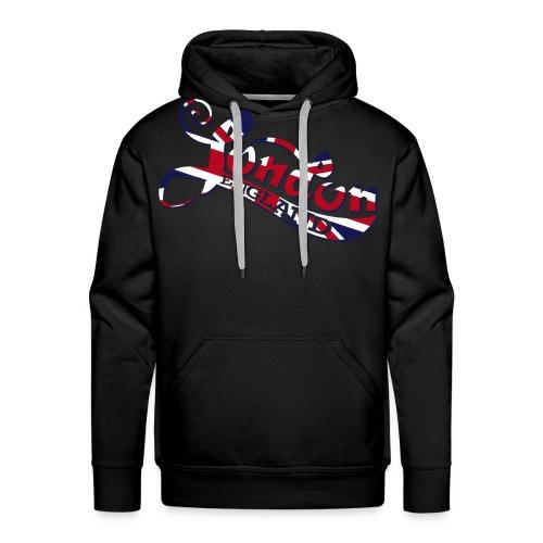 London England Samtaufdruck - Männer Premium Hoodie