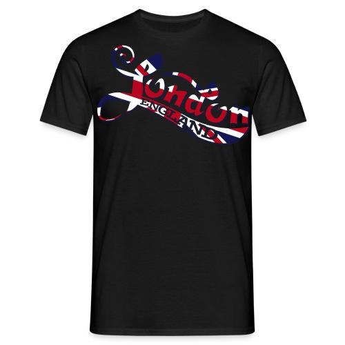 London England Samtaufdruck - Männer T-Shirt