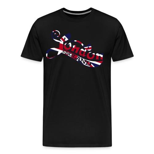 London England Samtaufdruck - Männer Premium T-Shirt
