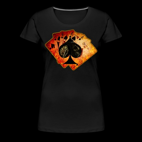Women's Ace Cards T-Shirt - Women's Premium T-Shirt