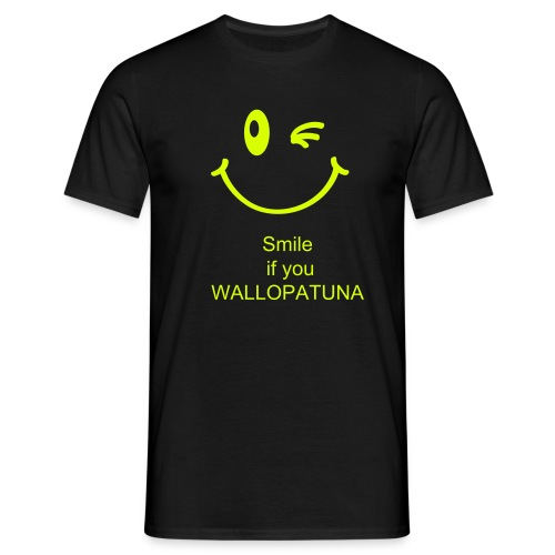 WALLOPATUNA SMILE - Men's T-Shirt